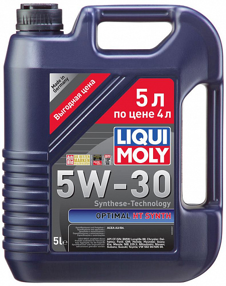 Liqui Moly Optimal HT Synth 5W-30, 5л
